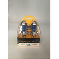 2 LAMPADE LAMPADINE PERALINE H4 12 V 60/55 W P43T BLUE carrozzeria officina 884