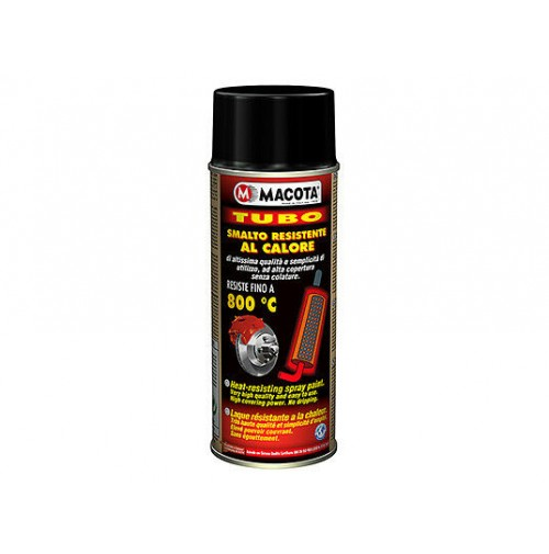 BOMBOLETTA Spray MACOTA ALTA TEMPERATURA NERA Marmitte Pinze Motori Stufe 400ml