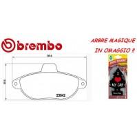 BREMBO KIT PASTIGLIE FRENO LANCIA ZETA Z 1995>   P23072  + ARBRE MAGIQUE OMAGGIO