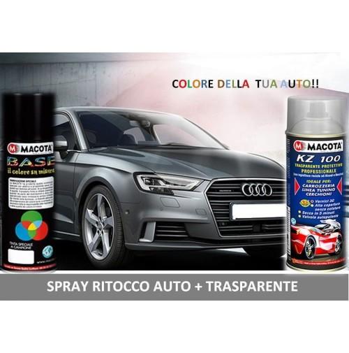 Bomboletta Spray RITOCCO VERNICE 400 ml + TRASPARENTE PORSCHE 746 SCHWARZ
