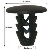 Bottoni per fissaggio rivestimenti interni - MOLLETTE -  Fiat e Lancia  10 pezzi