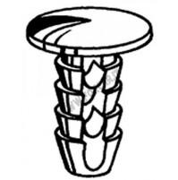 Bottoni rivestimenti interni - MOLLETTE -  Lancia e Alfa Romeo 10 pezzi