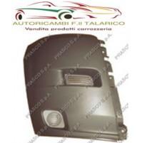 CANTONALE DESTRO DX PARAURTI ANTERIORE ANT NERO FIAT DUCATO ANNO 2006