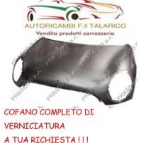 COFANO ANTERIORE ANT  MINI COOPER 2007 E MINI ONE VERNICIABILE A63 LIGH BLUE MET