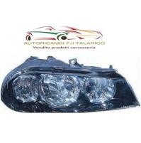 FARO FANALE ALFA ROMEO (2003 > 2005 ) PROIETTORE DX  H1+H7 REG.ELETTRICA