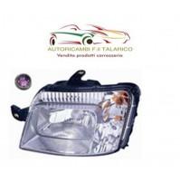 FARO PROIETTORE ANT ANTERIORE SX H4 ELETTRICO MOT FIAT PANDA 2009 4X4