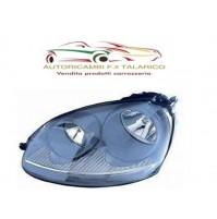 FARO PROIETTORE ANTERIORE DX PAR GRIGIO OPACO VW VOLKSWAGEN GOLF 5 SERIE 03 - 08