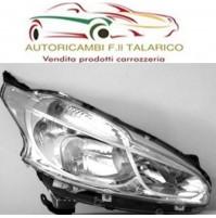 FARO PROIETTORE SINISTRO SX PEUGEOT 208 2012 >  H7+H7 SENZA MOTORE