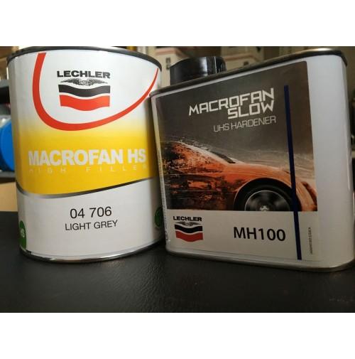 FONDO ACRILICO 4:1 RIEMPITIVO/ISOLANTE MACROFAN LECHLER 04 706 + CATALIZZ MH100