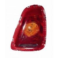 Fanale Posteriore SINISTRO Lato Guida New Mini anno 2006 - Arancio  / Rosso