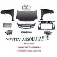 KIT MUSO MUSATA FRONTALE COMPLETA FIAT PANDA 09 12 VERNICIATO 218/A BIANCO