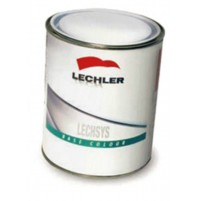 LECHLER VERNICE VEICOLI INDUSTRIALI BASE 29 031 L0290031L1 LIGHT OXIDE RED 1 Lt