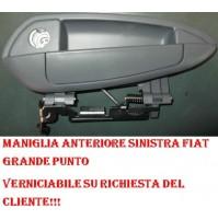 MANIGLIA PORTA ANT SX FIAT GRANDE PUNTO05' VERNICIABILE SU RICHIESTA DEL CLIENTE