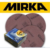 MIRKA CARTA ABRASIVA GRANA 120 cod. 5420305012 - 50 PEZZI ABRANET 77 mm GRIP