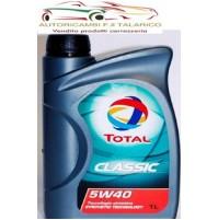 OLIO TOTAL CLASSIC 5W40 lt 1 per motori diesel e benzina