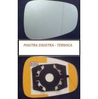 PIASTRA VETRO RETROVISORE TERMICO SINISTRO ALFA ROMEO 159 DAL 2005 >
