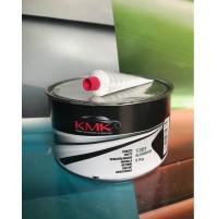 STUCCO Alluminio SPATOLA KG 2,00 BICOMPONENTE Professionale Per Carrozzeria