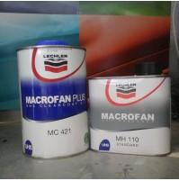 TRASPARENTE 2:1 LECHLER MACROFAN PLUS 1000 ml+CATALIZZATORE MH 110 500 ml