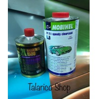 TRASPARENTE CLEARCOAT SPEEDY 2K 2:1 Mobihel Helios ANTIGRAFFIO 1LT 47053802