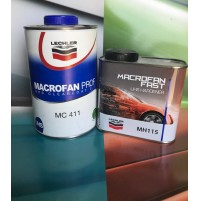 VERNICE TRASPARENTE BICOMPONENTE MACROFAN LT1 MC411 - MH115 LECHLER AUTO E MOTO